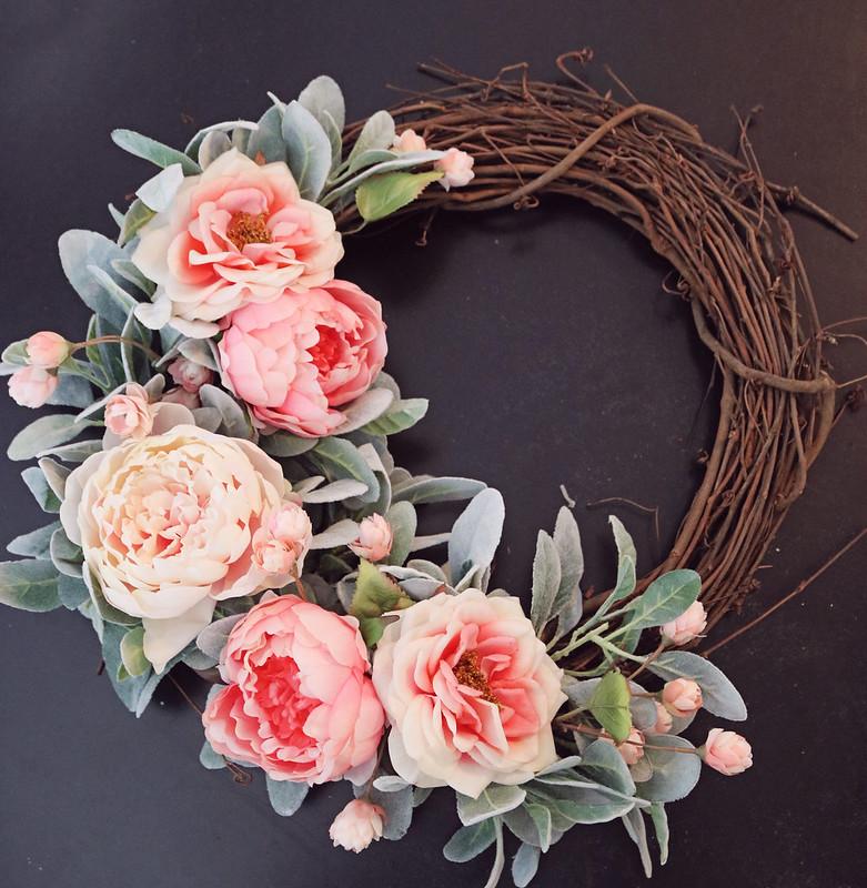 peony wreath 1