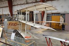 Scale replica Avro Triplane IV 'N40756'