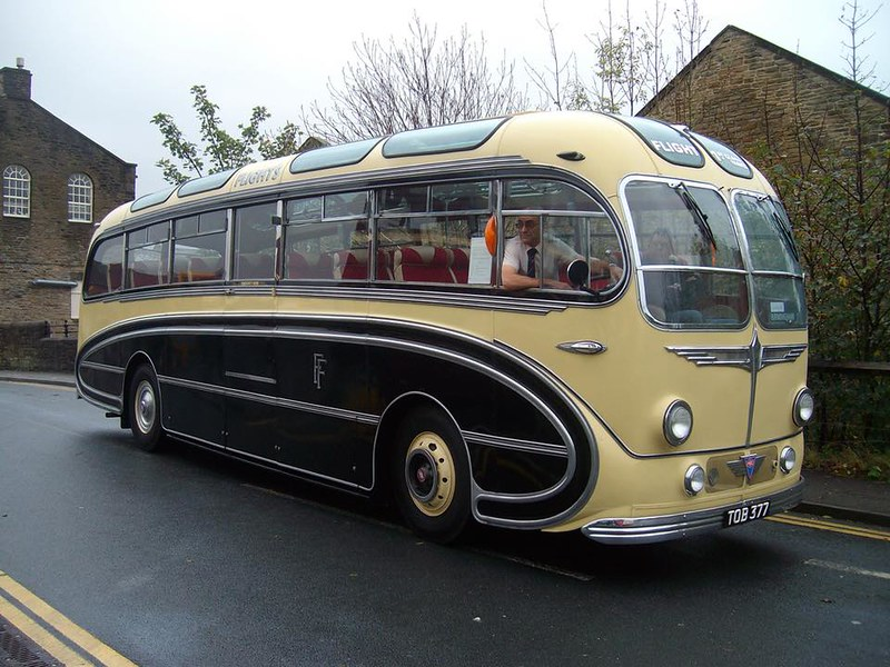 AEC Regal with Burlingham Seagull Body