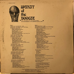 KOOL & THE GANG:SPIRIT OF THE BOOGIE(JACKET C)
