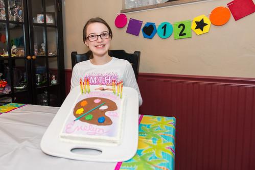 Twelfth Birthday Cake