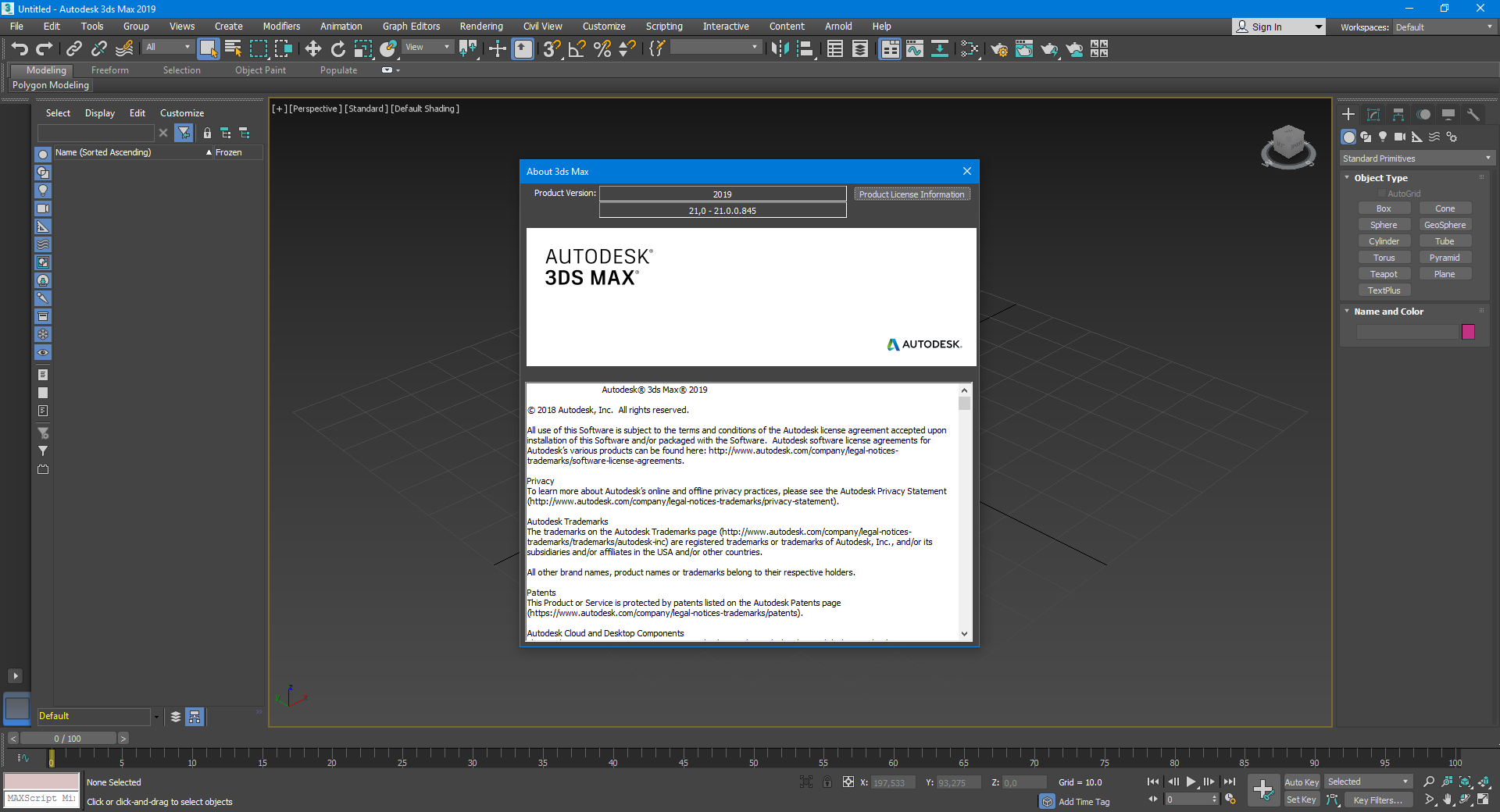 Design with Autodesk 3ds Max 2019 full