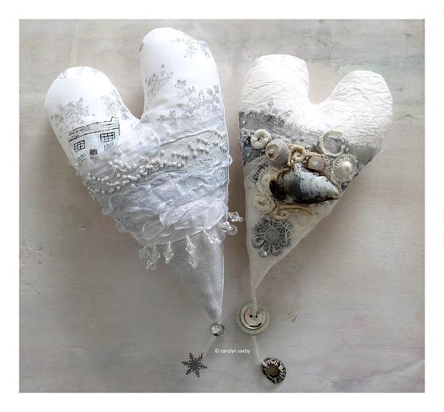 carolyn saxby - winter hearts