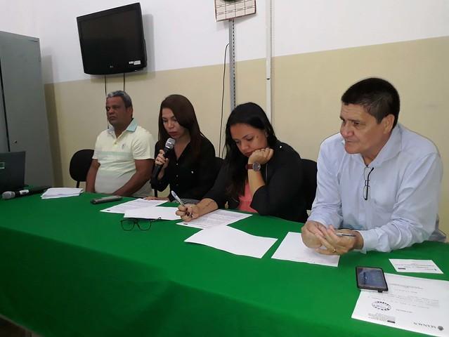 12.04.18 Conselho Municipal de Saúde cria comissão para processo eleitoral complementar.