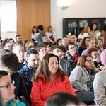Seg, 16/04/2018 - 10:51 - A 7.ª edição da Semana Internacional decorreu entre 16 e 20 de abril, no âmbito do Programa de Mobilidade Internacional Erasmus+, com o objetivo de promover a troca de experiências e boas práticas de trabalho entre colegas de instituições de ensino superior, de 20 países europeus.