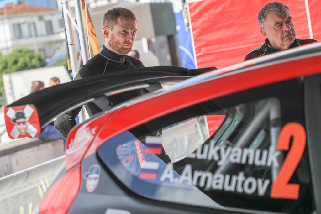 02 LUKYANUK Alexey (rus), ARNAUTOV Alexey (rus), RUSSIAN PERFORMANCE, Ford Fietsa R5 ambiance  during the 2018 European Rally Championship ERC Azores rally,  from March 22 to 24, at Ponta Delgada Portugal - Photo Jorge Cunha / DPPI