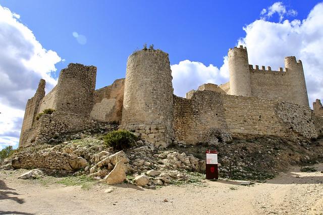 Alcala de Chivert Knights Templar Castle. Castellon, Spain