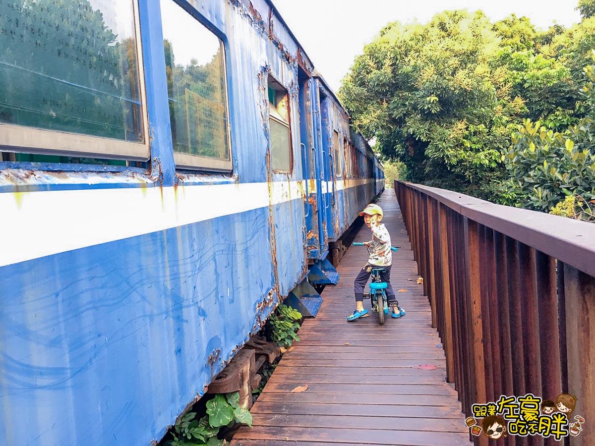 舊鐵橋(屏東端)火車-2
