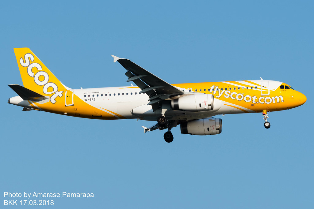 9V-TRE // Scoot Airbus A320-232