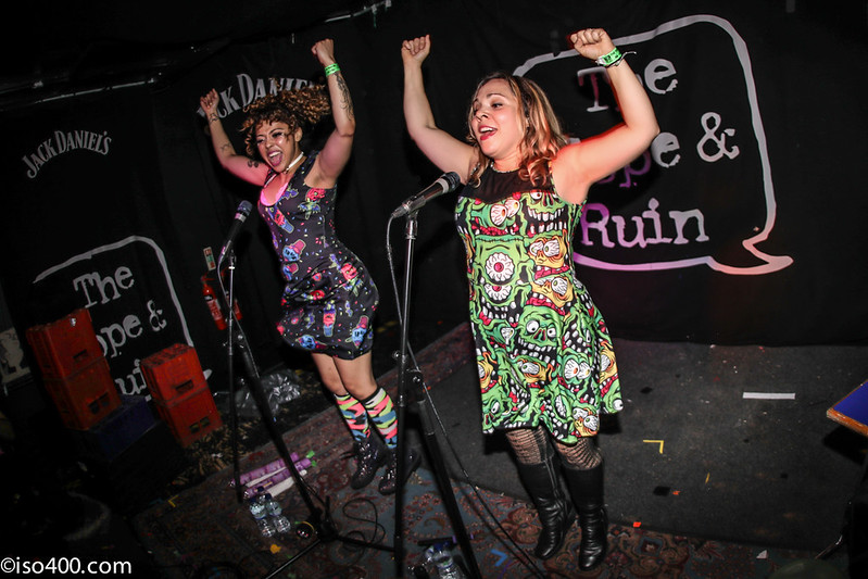 Daphne and Celeste at the Brighton Hope 30th Mar 2018 pic by mike burnell-1894