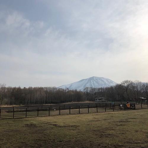 スウィートグラスから望む浅間山