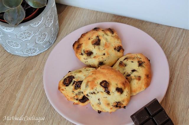 Cookies choco-banane sans gluten sans lactose