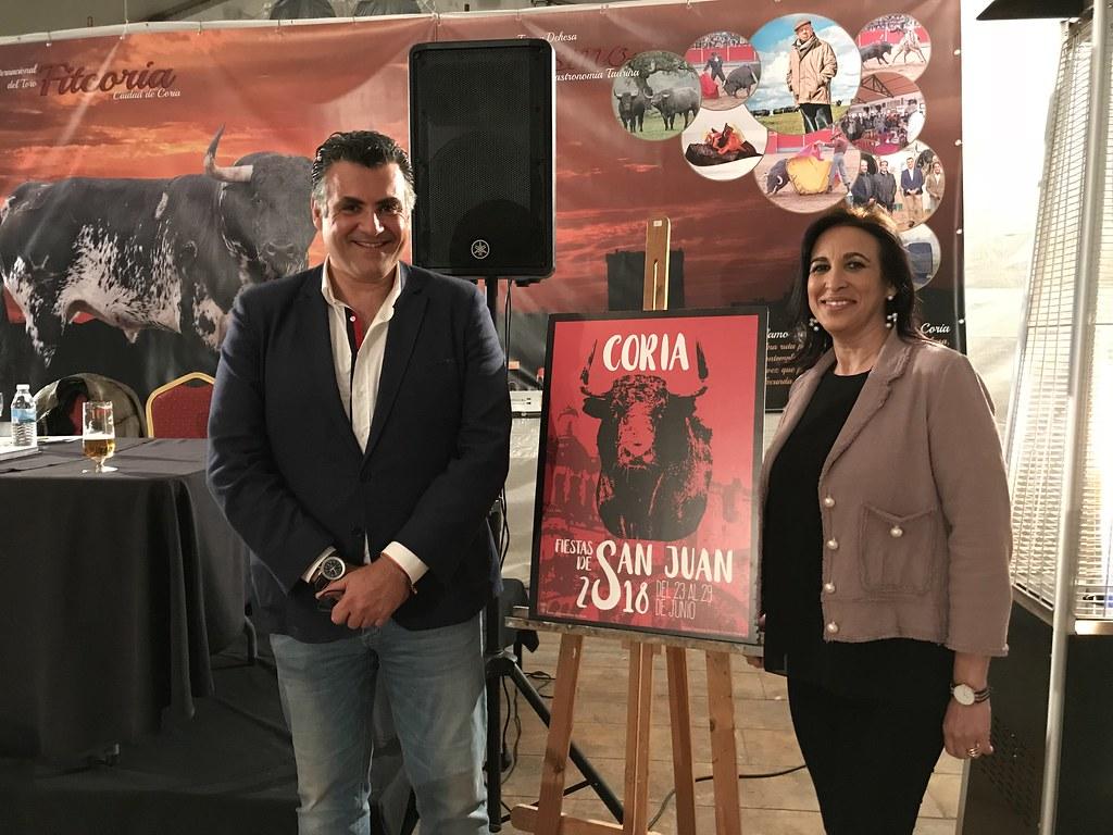 """""""De Coria al cielo"""" del autor Víctor Sánchez Greca de Madrid, es el título del cartel que anunciará las Fiestas de San Juan 2018"""
