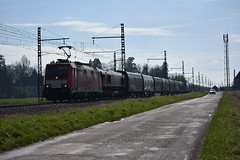 TRAXX E  186 DB ET Class 66 ECR - Photo of Saint-Cyr