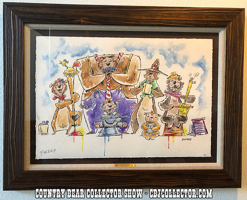 2017 Disney Country Bear Jam Giclée by David Buckley - Country Bear Collector Show #141