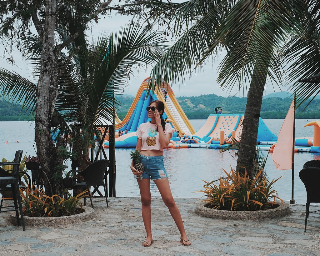 Kamia Bay Resort Inflatable Island