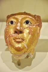 Mummy Mask of a Woman, Romans in Egypt, Royal Ontario Museum, Toronto, ON