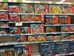 Concord Toys R Us PlayMobil Aisle
