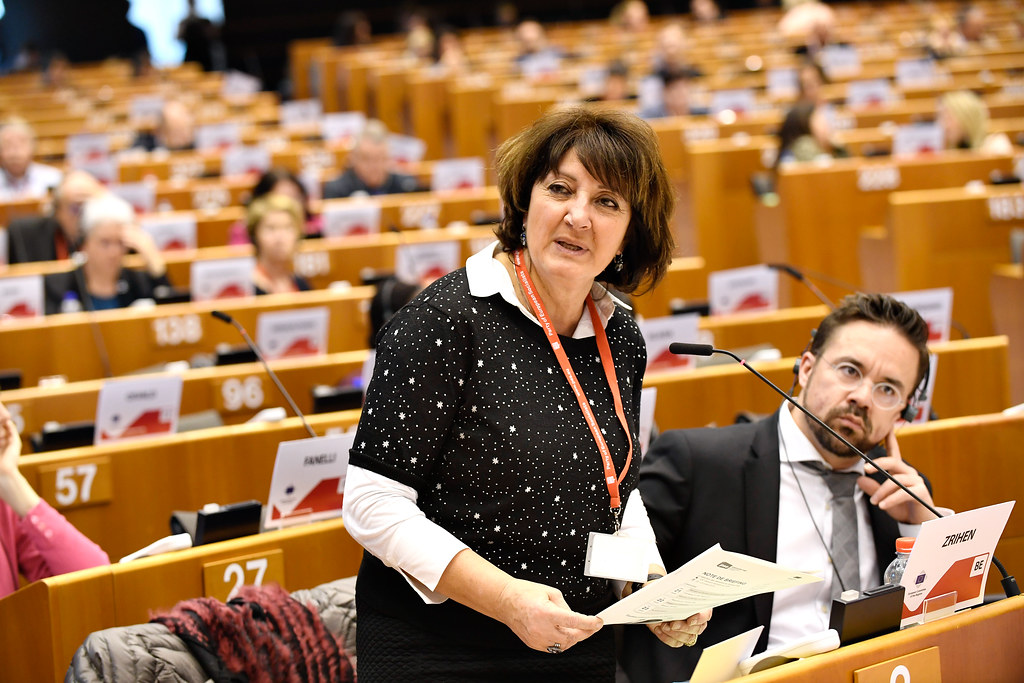 Olga Zrihen - European Committee of the Regions - © European Union / Fred Guerdin