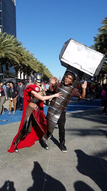Thor and Mjolnir