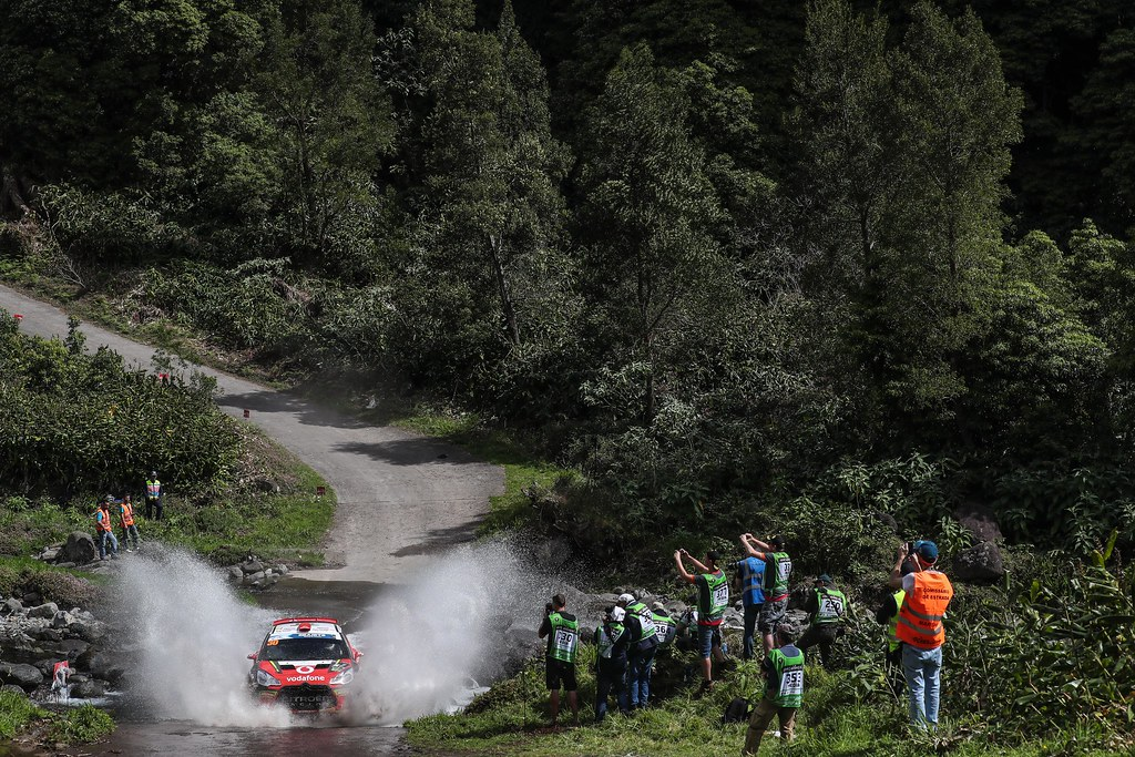 30 FONTES Jose Pedro (prt), BABO Paulo (prt), CITROEN VODAFONE TEAM, CITROEN DS3 R5, action action during the 2018 European Rally Championship ERC Azores rally,  from March 22 to 24, at Ponta Delgada Portugal - DPPI