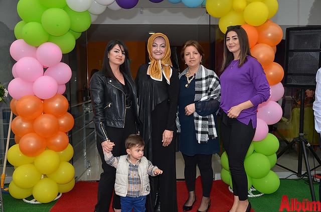 Zeynep Bozan, Rukiye Okşar, Aynur Batmaz, Gözde Ecrin