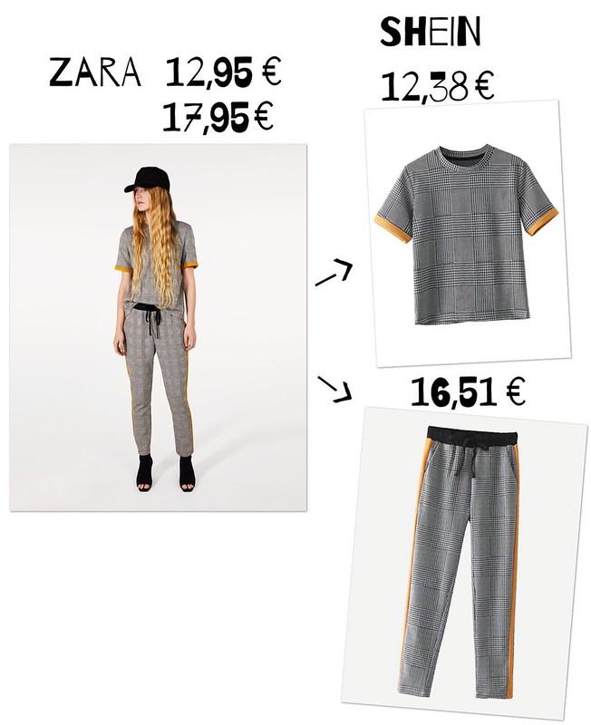 Zara vs shein