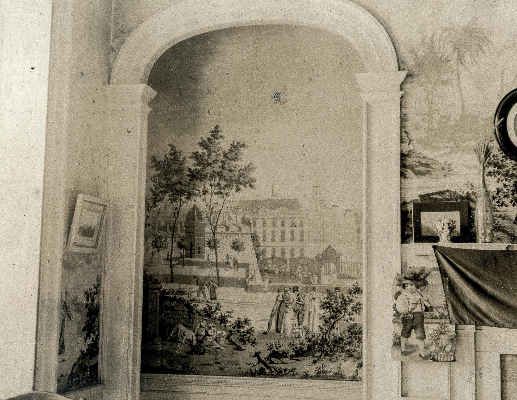 Poltrack Blog: 19th Century Wallpaper