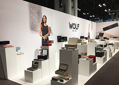 WOLF Fabric Tradeshow Display