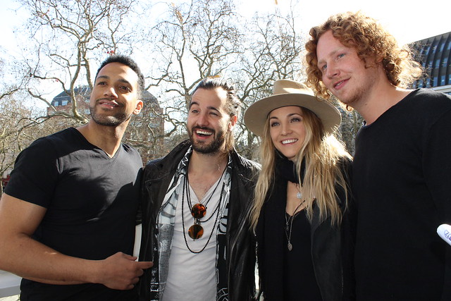 London Eurovision Party interview photos