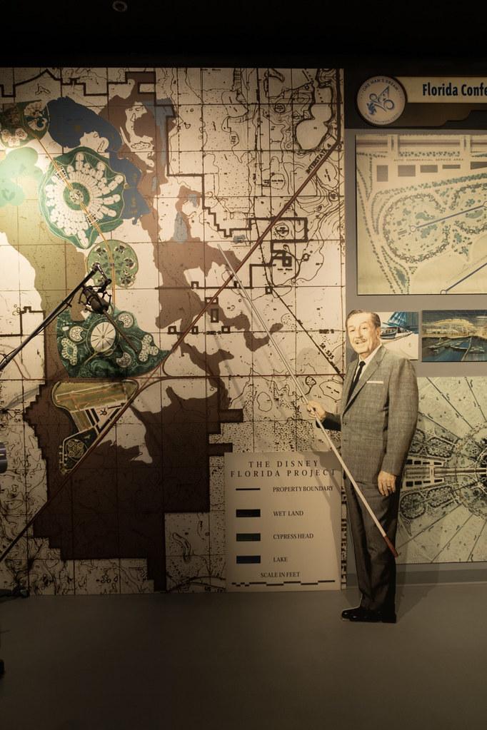 Walt Disney display