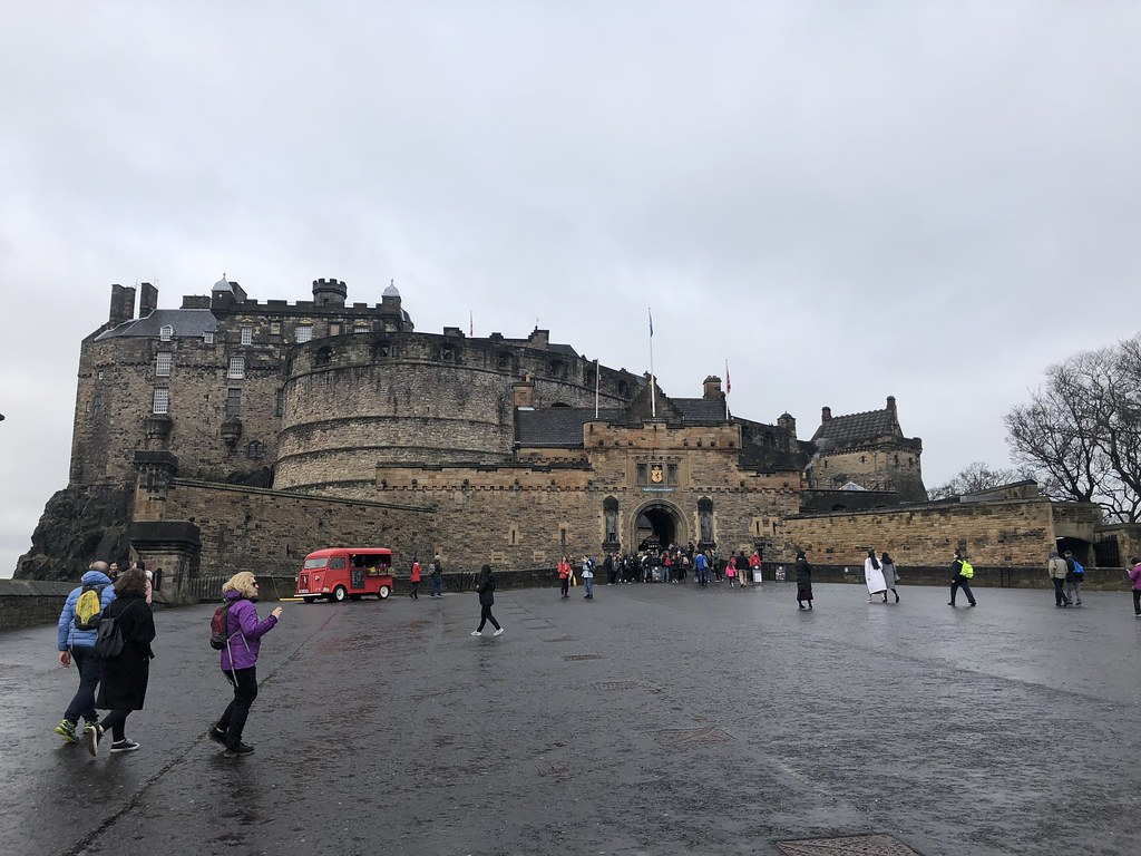 Edinburgh Castle, Edinburgh Scotland, UK