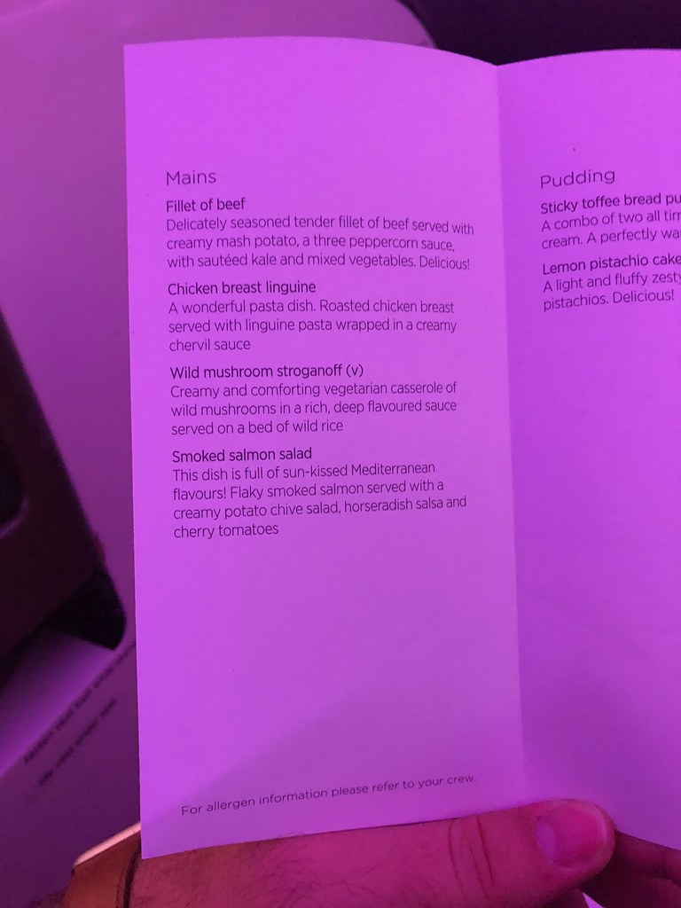 Virgin Atlantic Upper Class 52