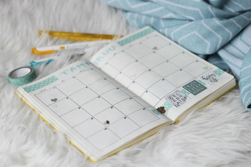 bullet journal blogi