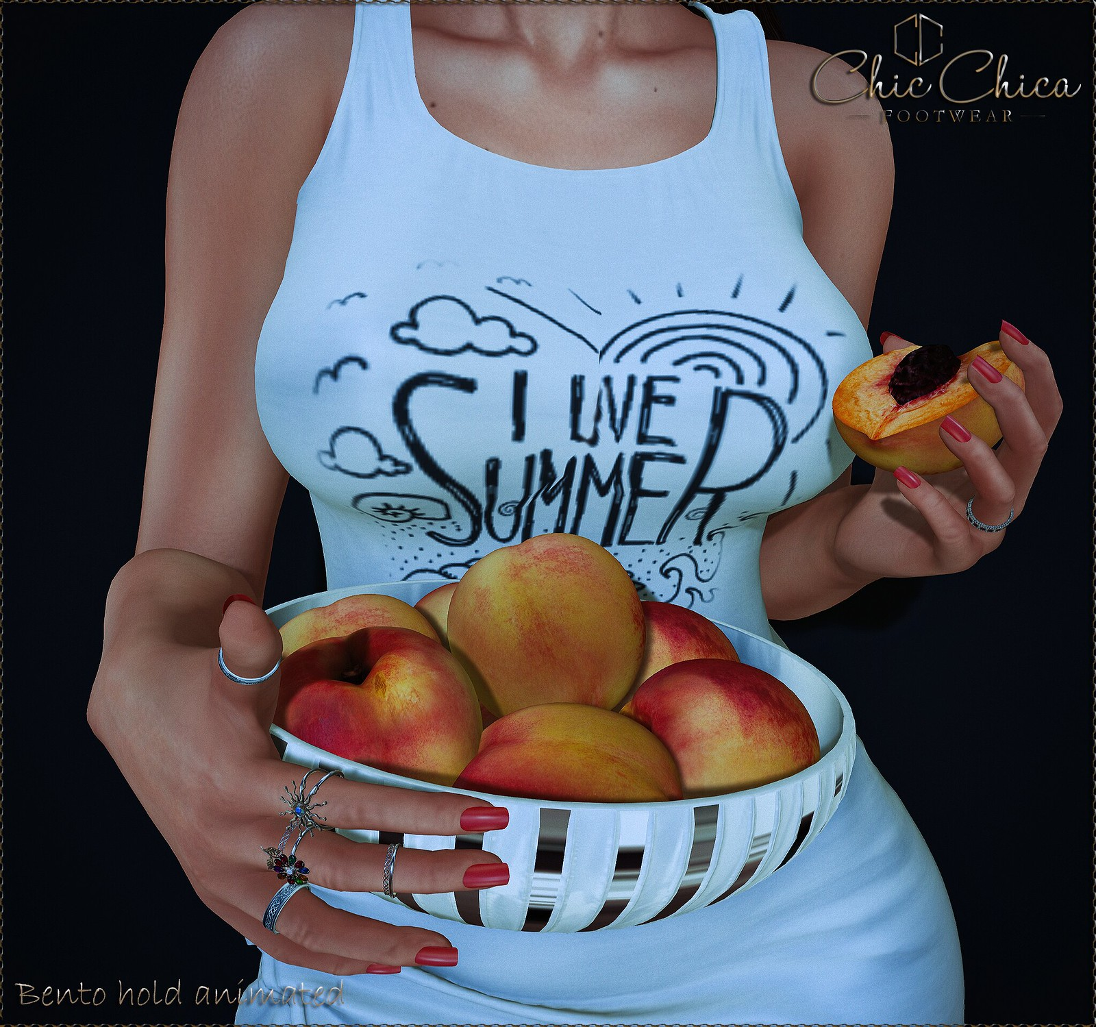 Sweet peaches by ChicChica OUT @ The Chapter Four