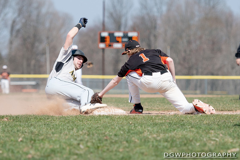 Shelton vs. Amity High - High School Baseball