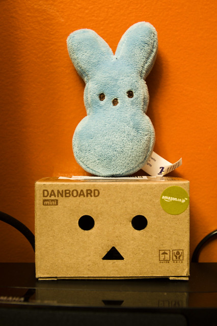 April 15 - Peeps and the Danboard
