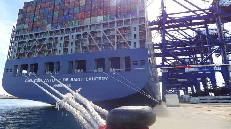 Megaship CMA CGM Antoine Saint Exupery2