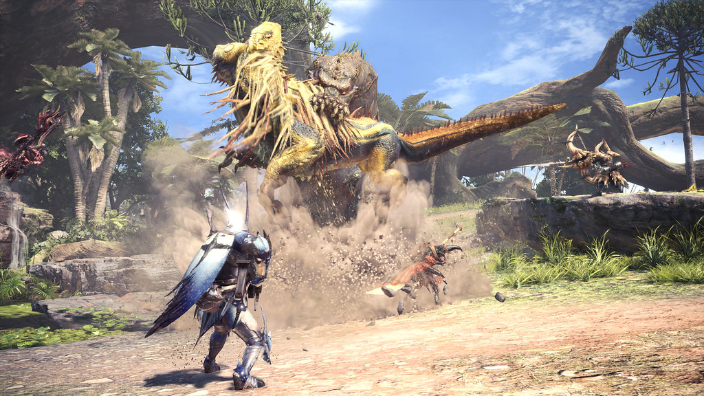 Monster Hunter: World's latest threat, The Deviljho, joins