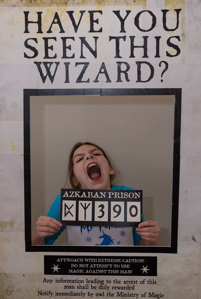 Azkaban wanted poster