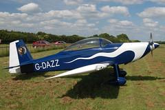 G-DAZZ Vans RV-8 (PFA 303-14245) Popham 140609