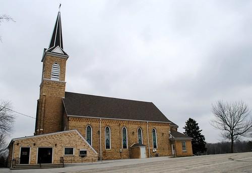 St. John's Catholic Church - Rubicon, Wisconsin