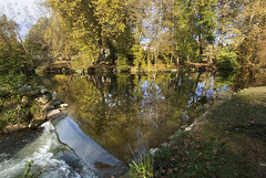 Reflections of the Charente in autumn-3 - Photo of Mérignac