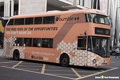 Wrightbus NRM NBFL - LTZ 1193 - LT193 - Bumble - Victoria 38 - Arriva London - London 2018 - Steven Gray - IMG_7888