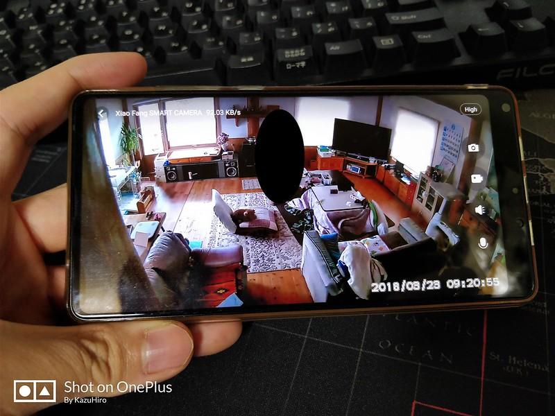 Xiaomi Xiaofang IP Camera IPカメラ 録画映像 (1)