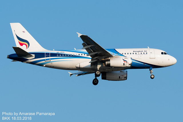 HS-PPS // Bangkok Airways Airbus A319-132