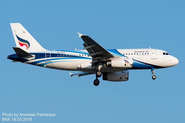 HS-PPS // Bangkok Airways Airbus A319-132