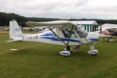 G-CEJW Ikarus Comco C-42 (0612-6860)  Popham 030808