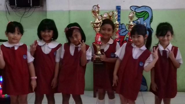Juara II Menari tingkat Kecamatan Karawaci