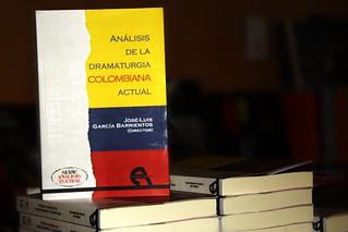 Presentación del libro: Análisis de la Dramaturgia Colombiana Actual